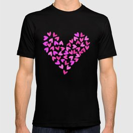 Flying hearts T-shirt