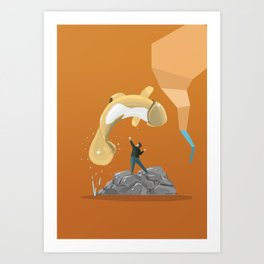 "Free ""Willy"" Art Print"
