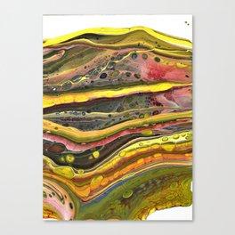 Fluid Art 8 Canvas Print