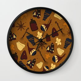Witch's Brew Wall Clock