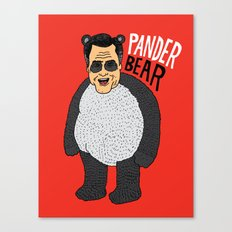 Romney's Halloween Costume Canvas Print