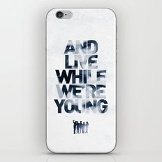 Live While We're Young - 1D iPhone & iPod Skin
