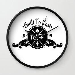 Classy Logo (White/Clothing) Wall Clock
