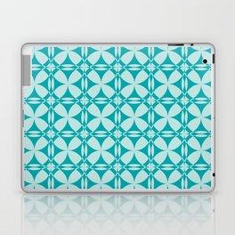 Abtsract Circles - Ocean Pattern Laptop & iPad Skin