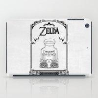 majora iPad Cases featuring Zelda legend - Lon Lon Milk by Art & Be