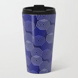 Op Art 117 Metal Travel Mug