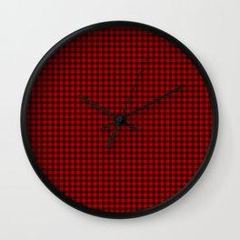 Brodie Tartan Wall Clock