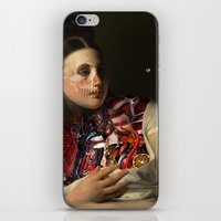 gravity iPhone & iPod Skins featuring Gravity by DIVIDUS