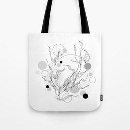 Digital Gray Vector of the Thrive Hopes! Tote Bag