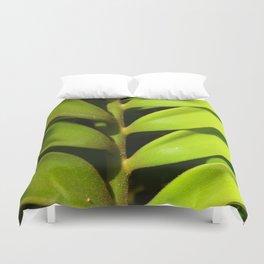 Vegetable balance - Green design Duvet Cover