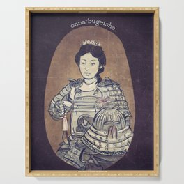 Onna-bugeisha Serving Tray