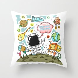 Make Today Your Bitch! Throw Pillow