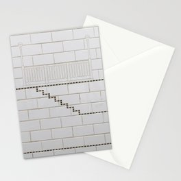 Stairs of Downtown Stationery Cards