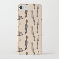 tool iPhone & iPod Cases featuring Tool Pattern by Jessica Roux