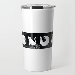 Non Day Cat Travel Mug