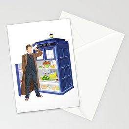 The Doctor Refreshes Stationery Cards