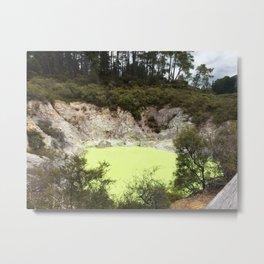 Sulphur Lake Metal Print