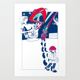 This One Girl Art Print