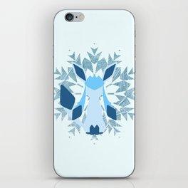 Minimal Glaceon iPhone Skin
