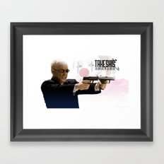 Takeshis' Framed Art Print