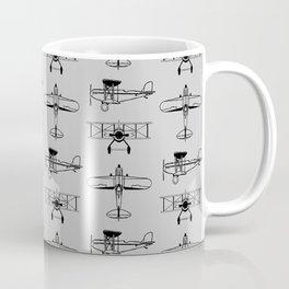 Biplanes // Silver Coffee Mug