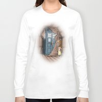 narnia Long Sleeve T-shirts featuring Bigger on the Inside! by Billy Allison