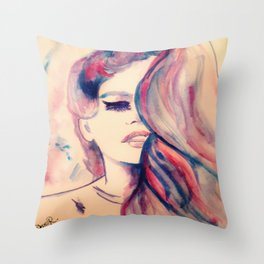 Touched Throw Pillow