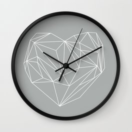 Heart Graphic 6 Wall Clock