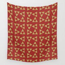 Print 131 - Legend Of Zelda - Red Wall Tapestry
