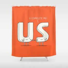 Love confession Shower Curtain