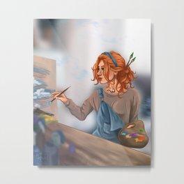 Clary Fairchild Metal Print