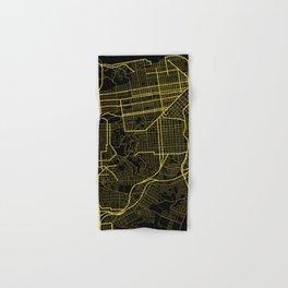 San Francisco Map Hand & Bath Towel