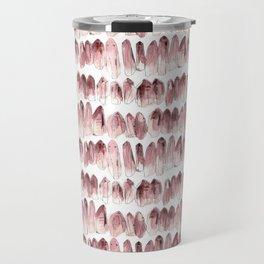 Crystals - Rose Quartz Travel Mug