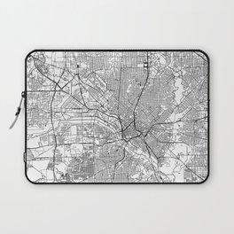 Dallas White Map Laptop Sleeve