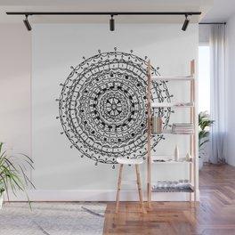 Circles Pattern Wall Mural