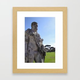 Ancient Statue? Framed Art Print