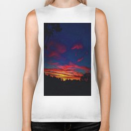 SUNSET PARTY Biker Tank