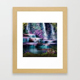 Fantasy Forest Framed Art Print