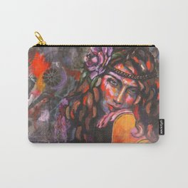 Layla and Her Guitar Carry-All Pouch