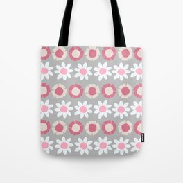 Peggy Pink Tote Bag