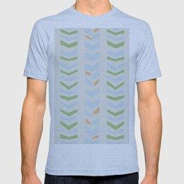 Chevron pale T-shirt