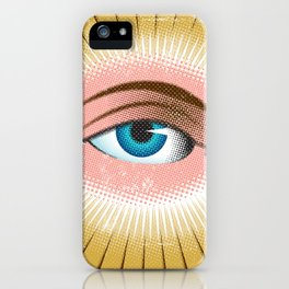 All Seeing Eye iPhone Case