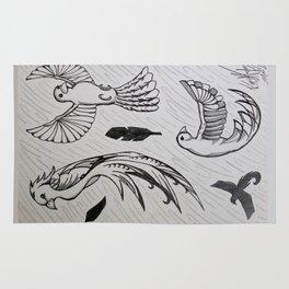 Birds #1 Rug