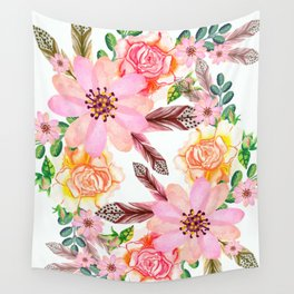 Flowers 189 Wall Tapestry