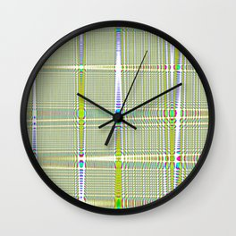 square countryside Wall Clock