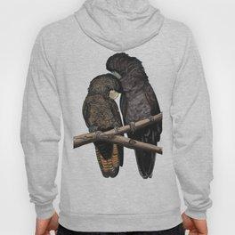 Black Cockatoos Hoody