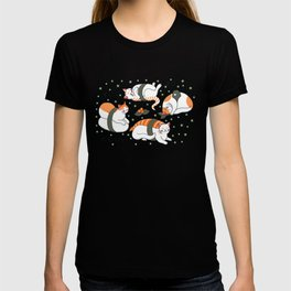 Kawaii Neko Sushi T-shirt