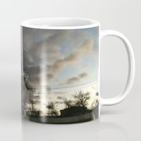 twilight Mugs featuring Twilight. by Mikhail Zhirnov