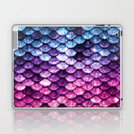 Mermaid Tail Pink Purple Blue Laptop & iPad Skin