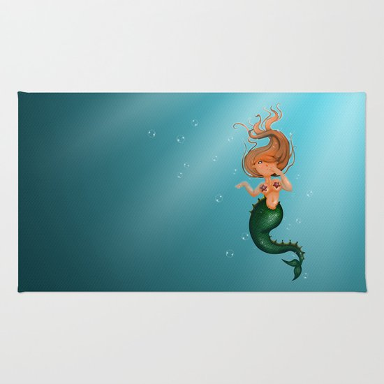mermaid Rug